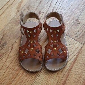 Toddler Girls Summer Sandals, Size 7
